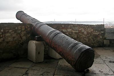 Canon - Castle of São Jorge, Lisbon
