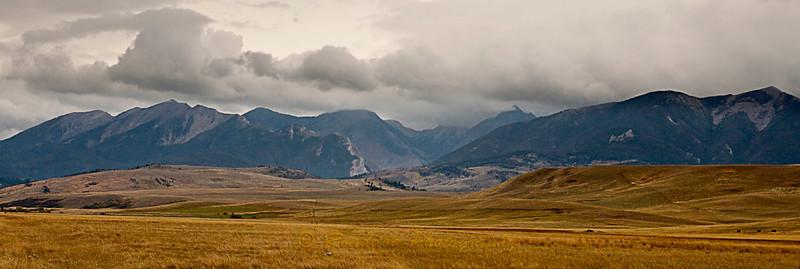 Absaroka Range, near Livingston Montana