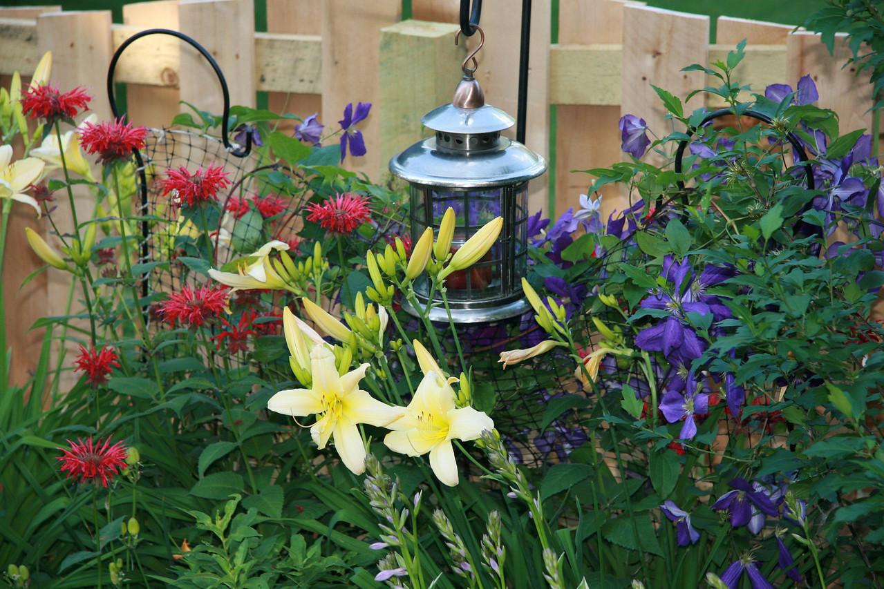 Blooms aplenty in Ida's garden.