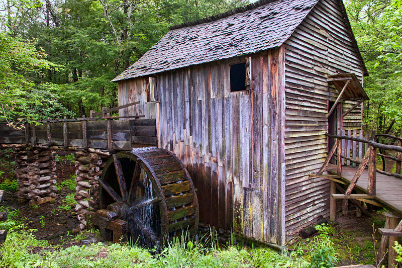 Grist Mill - Great Smoky Mountains Nat'l Park, NC