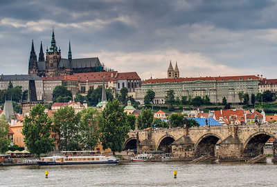 HDR of Prague Castle