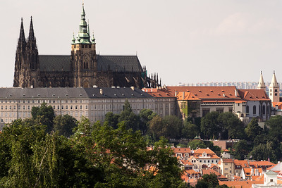 St. Vitus Cathedral and Prague Castle