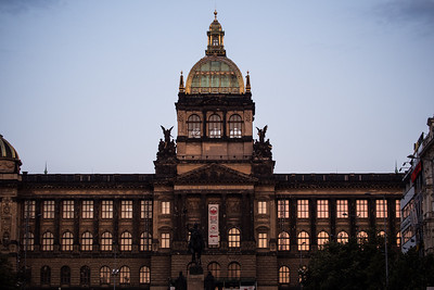 Prague National Museum, Wenceslas Square, Prague