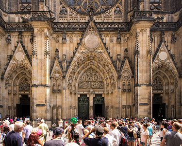 St. Vitus Cathedral entrance