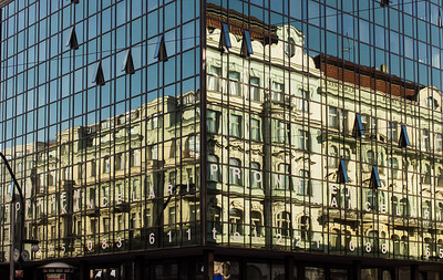 Prague - New reflects the old.