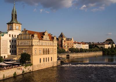 Prague - River front