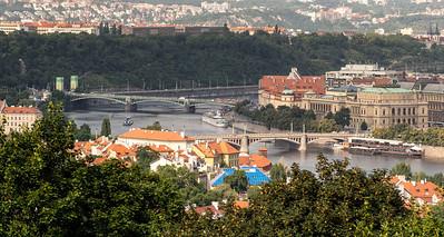 Vltava River bridges