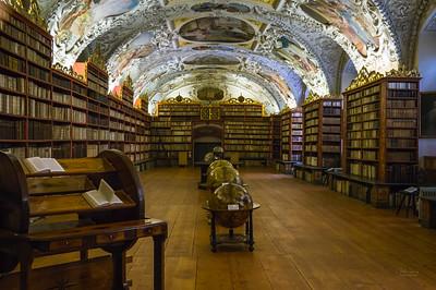 Strahof Monastery Library