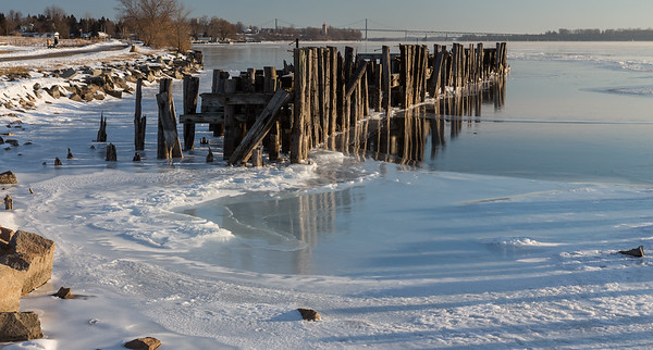 Ice and Pier
