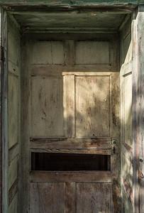 Deep Set Door