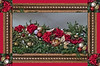 Holiday montage created from a shot from the Durand Train Depot