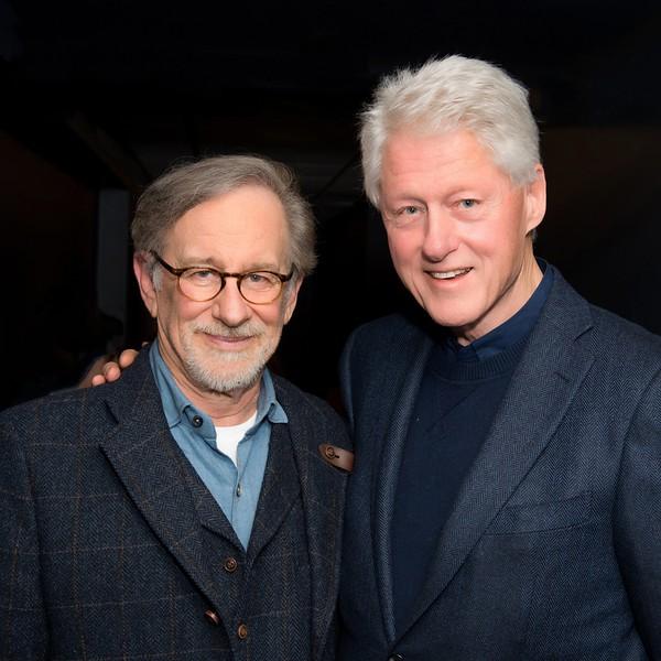 Steven Speilburg/Bill Clinton