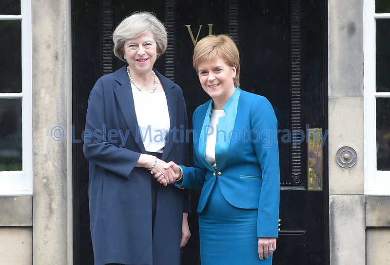 Prime Minister meeting First Minister