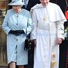 Pope Benedict XVI Visit to Edinburgh.