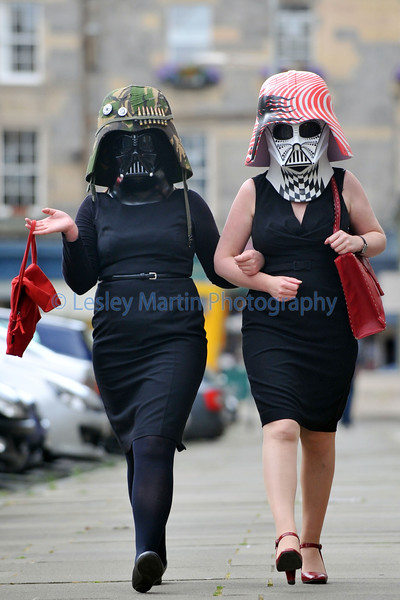 Darth Vader Mask Auction, Edinburgh.