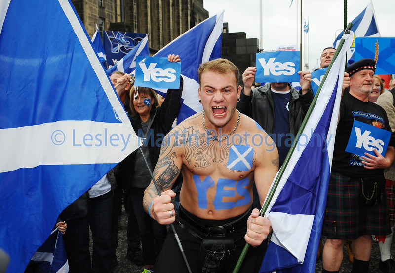 Yes Rally, Edinburgh