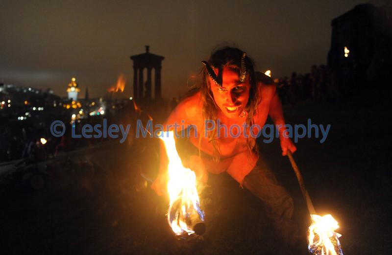 Beltane Fire Festival, Edinburgh.