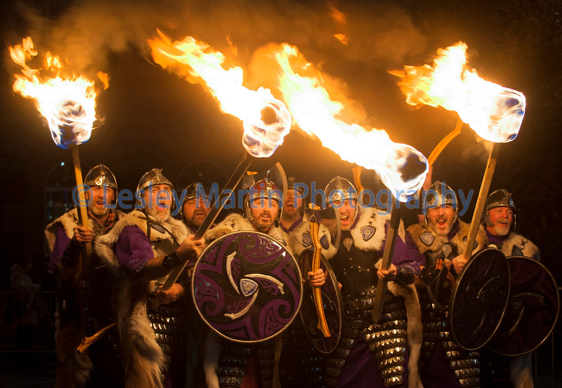Torchlight Procession, Edinburgh.