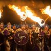Torchlight Procession, Edinburgh.