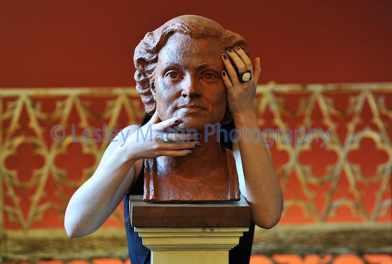 Bust of opera Singer.