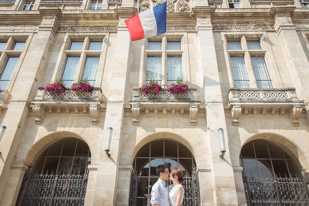 海外婚紗巴黎攝影師有fu攝影工作室