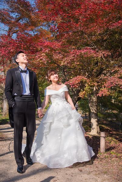 京都楓葉季婚紗和服寫真  Ryan & Fang