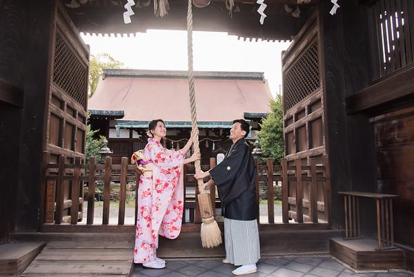 京都櫻花季 - Ting & Fu