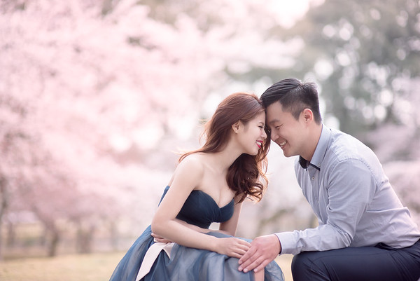 京都櫻花 + 奈良鹿婚紗 Ellie & Steve