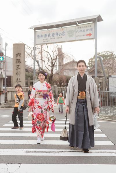 海外婚紗 - 京都櫻花季 - 小龜 & 毛毛