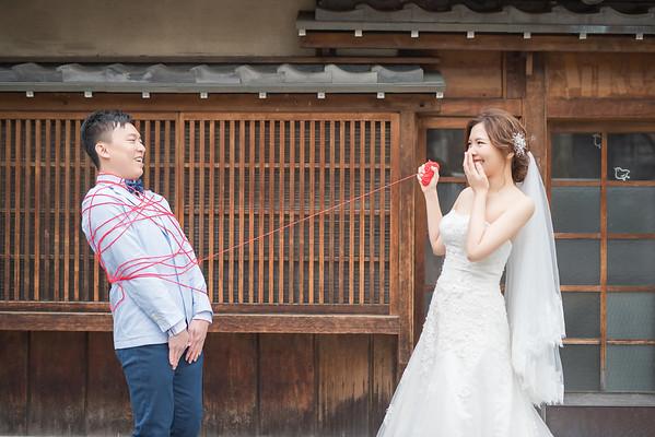 [京都婚紗] 櫻花季+奈良鹿 Sandy + Milk