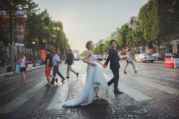 [Paris] 巴黎海外婚紗 Lance & Julia
