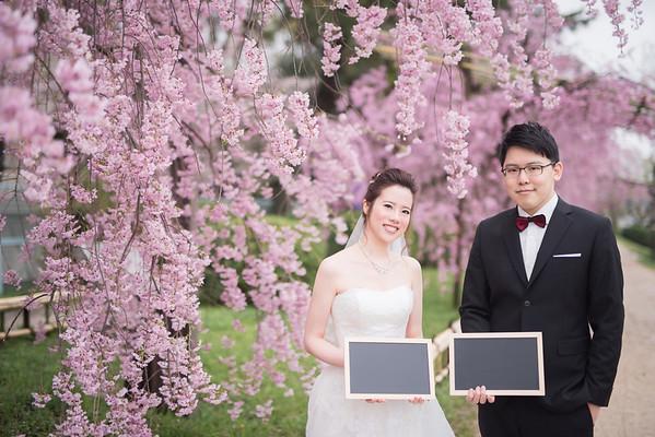 Pre-wedding - 京都婚紗櫻花季 - Joey & Sally
