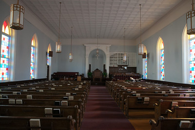 Dexter Ave. Baptist Church where Pastor Martin Luther King served. These pews are the original, installed in the late 1890's and are handmade.