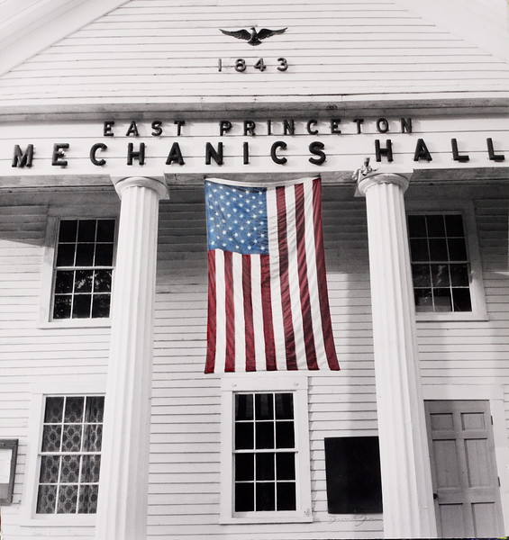 Mechanics Hall, East Princeton MA