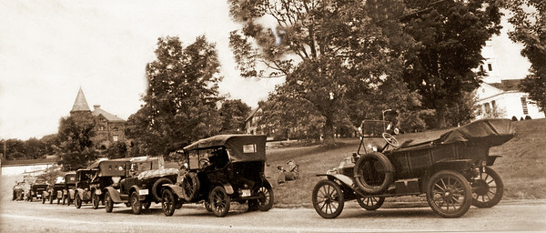 Antique Cars on Princeton Common
