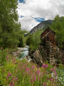 Crystal Mill II This was captured in Crystal City, CO.  Old mine.