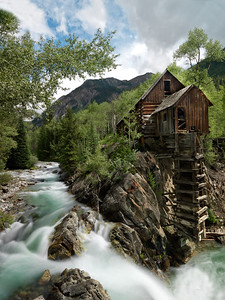 Crystal Mill This was captured in Crystal City, CO.  Old mine.