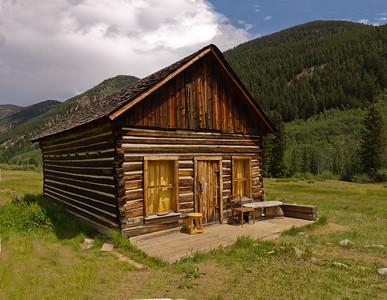 Ashcroft Cabin Ghost Mining Town near Aspen