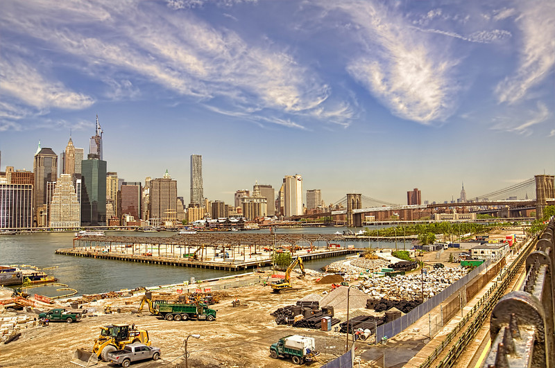 Brooklyn Promenade - HDR