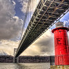 Little Red Light House, under the George Washington Bridge