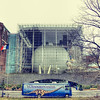 Hayden Planetarium on one winter day (Jan, 2013).