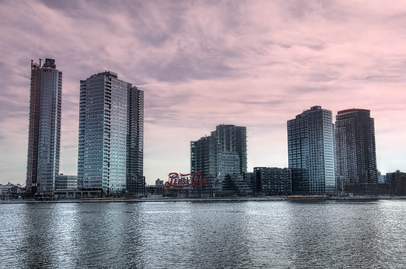 Long Island City from  FDR Four Freedoms Park