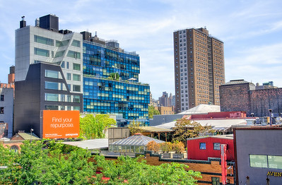 A view from the High Line