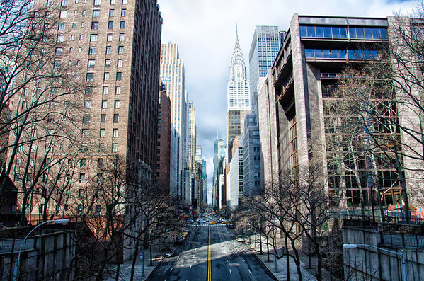 One of my favorite NYC picture taken locations (42nd St & 1st Ave) Tudor City.