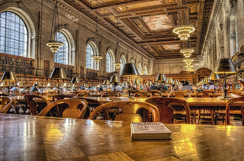 New York City Public Library 42nd & 5th Ave.