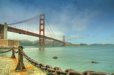 San Francisco Golden Gate Bridge - HDR