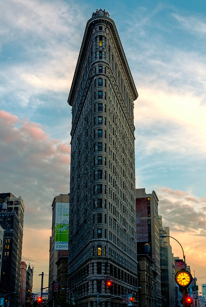 Flatiron Building at 23rd St & 5th Ave.