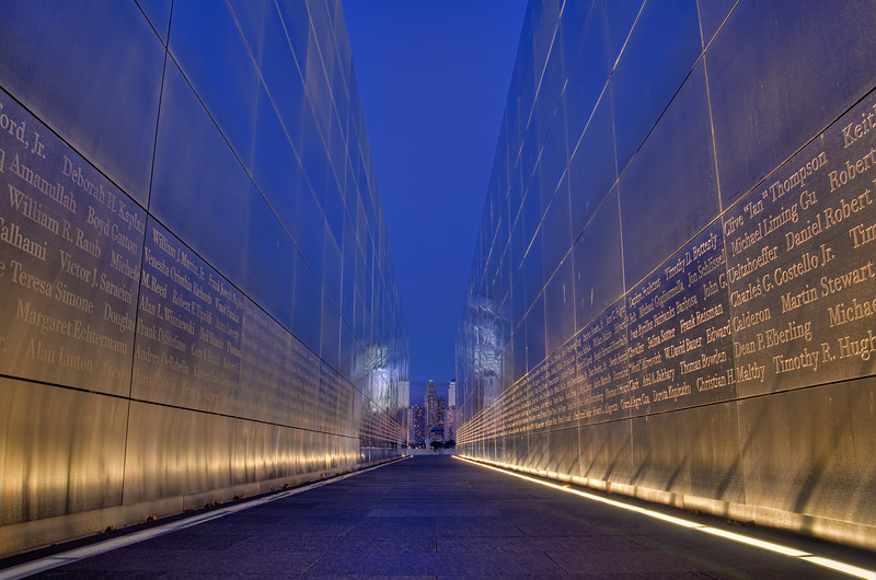 Liberty State Park  - Empty Sky 9/11 Memorial.