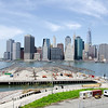 A view of Lower Manhattan from the Brooklyn Heights Promenade.