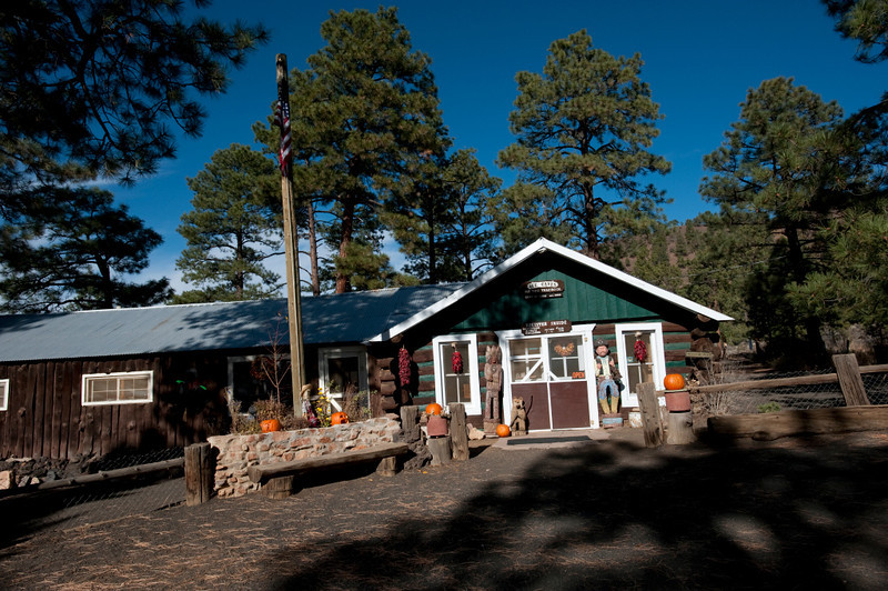Nobody, North America, USA, New Mexico, Ice Cave and Bandera Volcano, Visitor Center and Gift Shop